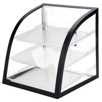 Cal-Mil P255-13 Iron Black Display Case - 16 inch x 16 1/2 inch x 16 1/2 inch