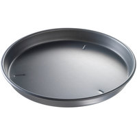 Chicago Metallic 91160 16 inch x 1 1/2 inch Deep Dish Hard Coat Anodized Aluminum Customizable Pizza Pan