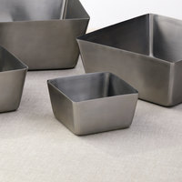 American Metalcraft SSQ53 30 oz. Satin Finish Stainless Steel Square Bowl
