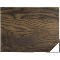 GET WD-10-ASH Taproot 12 inch x 9 inch Walled Ash Wood Serving Board