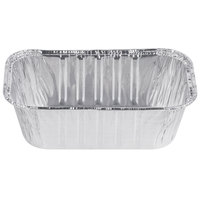 D&W Fine Pack 15430 1 lb. Foil Bread Loaf Pan - 500/Case