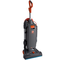 Hoover CH54115 HushTone 15+ Commercial Bagged Upright Vacuum Cleaner with Intellibelt - 1200W