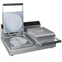 Hatco RWM-2 7 inch Double Standard Waffle Maker - 120V, 1800W