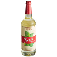 Torani 750 mL Puremade Creme de Menthe Flavoring Syrup