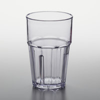 GET 9910-1-CL Bahama 10 oz. Customizable Clear Break-Resistant Plastic Tumbler   - 12/Pack