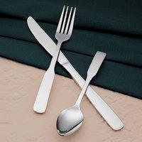 World Tableware Brandware 136 030 Colony 7 3/8 inch 18/0 Stainless Steel Medium Weight Dinner Fork - 36/Case