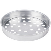 American Metalcraft SPA4006 6 inch x 1 inch Super Perforated Standard Weight Aluminum Straight Sided Pizza Pan