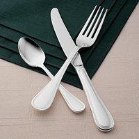 World Tableware Brandware 160 030 Geneva 7 inch 18/0 Stainless Steel Medium Weight Dinner Fork - 36/Case
