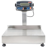 Tor Rey EQB-20/40-W 40 lb. Waterproof Digital Receiving Bench Scale with Tower Display