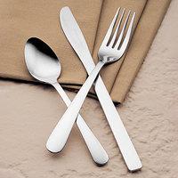 World Tableware Brandware 141 030 Windsor 7 1/8 inch 18/0 Stainless Steel Heavy Weight Dinner Fork - 36/Case