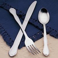 World Tableware Brandware 134 001 Linda 6 inch 18/0 Stainless Steel Teaspoon - 36/Case