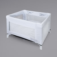 L.A. Baby BD-65 37 1/2 inch x 25 1/2 inch White Sleep Clean Cover for PY-65 Playard