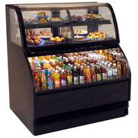 Structural Concepts Harmony HMBC4-E3 Black 51 inch Refrigerated Dual Service Merchandiser Case - 120/230V