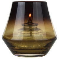 Sterno Products 80550 Cymbal 4 inch Amber Votive Liquid Candle Holder