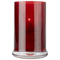 Sterno Products 80559 Siren 4 1/2 inch Red Votive Liquid Candle Holder
