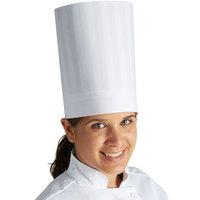 Mercer Culinary Genesis® 9 inch White Chef Trek Toque Hat