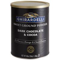 Ghirardelli 3 lb. Sweet Ground Dark Chocolate & Cocoa Powder