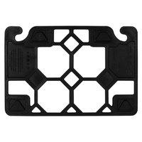 San Jamar CBQGF1218 QuadGrip™ 18 inch x 12 inch x 1/2 inch Black Frame