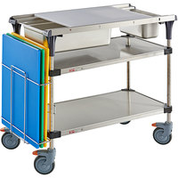 Metro Prepmate MultiStation with Stainless Steel Shelving and Accessory Pack - 18 inch x 36 inch