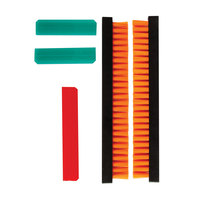 San Jamar X104535 Brush and Squeegee Set for Hanging and Vertical Sani Stations