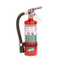 Buckeye 2.5 lb. Halotron Fire Extinguisher with DOT Vehicle Bracket - Rechargeable Untagged - UL Rating 2-B:C