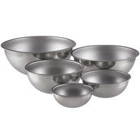 Vollrath 5 Piece Heavy-Duty Stainless Steel Mixing Bowl Set