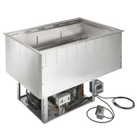 Vollrath FAC-4 Four Pan Drop-In Forced Air Cold Well - 120V, 720W