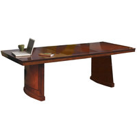 Mayline SC8SCR Sorrento 8' Cherry Rectangular Conference Table