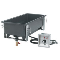 Vollrath 72109 Cayenne Single Well Drop In Hot Food Well with Drain - 120V, 1600W
