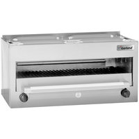 Garland MSTSRCM NAT Master Series Natural Gas 34 inch Countertop Infra-Red Salamander Broiler - 28,000 BTU