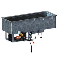 Vollrath FAC-5 Five Pan Drop-In Forced Air Cold Well -120V, 1080W