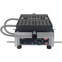 Hatco Krampouz KWM18.1BR46620 4 inch x 6 inch Brussels Style Belgian Waffle Maker - 208/240V