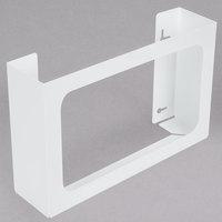 San Jamar G0804 White 3 Box Disposable Glove Dispenser