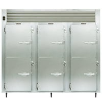 Traulsen AHF332W-HHS 79 Cu. Ft. Solid Half Door Three Section Reach In Heated Holding Cabinet - Specification Line