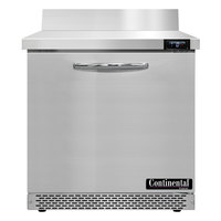 Continental Refrigerator SWF32NBS-FB 32 inch Front Breathing Worktop Freezer - 9 Cu. Ft.