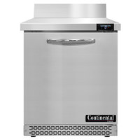 Continental Refrigerator SWF27NBS-FB 27 inch Front Breathing Worktop Freezer - 7.4 Cu. Ft.