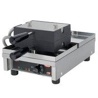 Hatco Krampouz KWM18.1BR35515 3 inch x 5 inch Brussels Style Belgian Waffle Maker - 120V