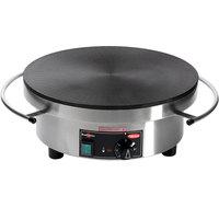 Hatco Krampouz KCME.1RND620 15 1/2 inch Round Electric Cast Iron Crepe Maker - 240V