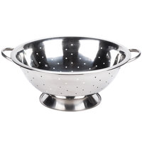 8 Qt. Stainless Steel Colander with Base and Handles