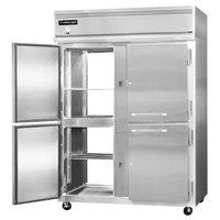 Continental Refrigerator 2RE-N-SA-PT-HD 57 inch Half Door Extra Wide Pass-Through Refrigerator