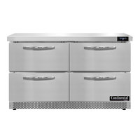 Continental Refrigerator SWF48N-FB-D 48 inch Front Breathing Undercounter Freezer with Four Drawers