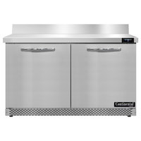 Continental Refrigerator SWF48NBS-FB 48 inch Front Breathing Worktop Freezer - 13.4 Cu. Ft.