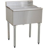 Eagle Group B2IC-18-7 1800 Series 24 inch Ice Chest with Post-Mix Cold Plate - 63 lb. Capacity