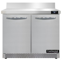 Continental Refrigerator SW36-N-BS-FB 36 inch Front Breathing Worktop Refrigerator
