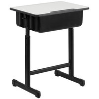 Flash Furniture YU-YCY-046-GG Black Student Desk