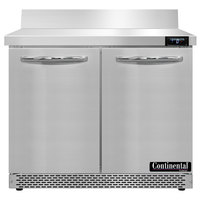Continental Refrigerator SWF36NBS-FB 36 inch Front Breathing Worktop Freezer - 10.3 Cu. Ft.