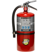Buckeye 10 lb. ABC High Flow Fire Extinguisher - Rechargeable Untagged - UL Rating 1-A-20-B:C