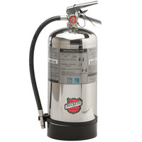 Buckeye 6 Liter Class K Wet Chemical Fire Extinguisher - Rechargeable Untagged - UL Rating 1-A:K