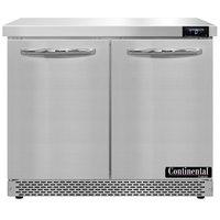 Continental Refrigerator SWF36N-FB 36 inch Front Breathing Undercounter Freezer