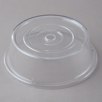 Carlisle 199107 10 1/2 inch to 10 5/8 inch Clear Polycarbonate Plate Cover - 12/Case